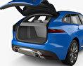 Jaguar F-Pace S with HQ interior 2017 3d model