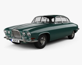 3D model of Jaguar Mark X 1961