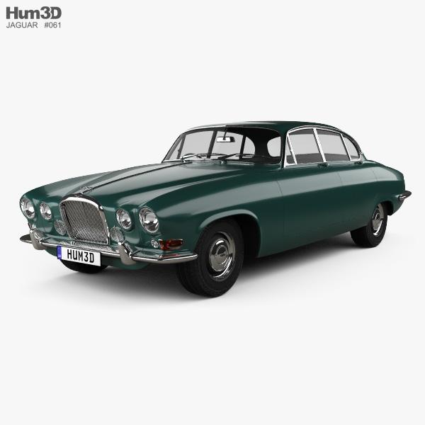 Jaguar Mark X 1961 3D model