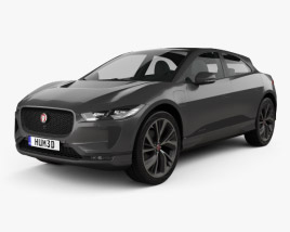 3D model of Jaguar I-Pace EV400 HSE 2019