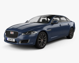 3D model of Jaguar XJ50 LWB 2019
