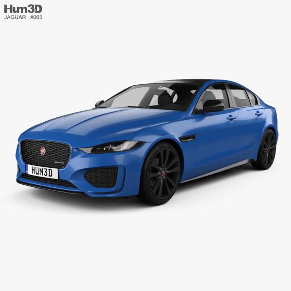 Jaguar XE Reims Edition 2020 3D model