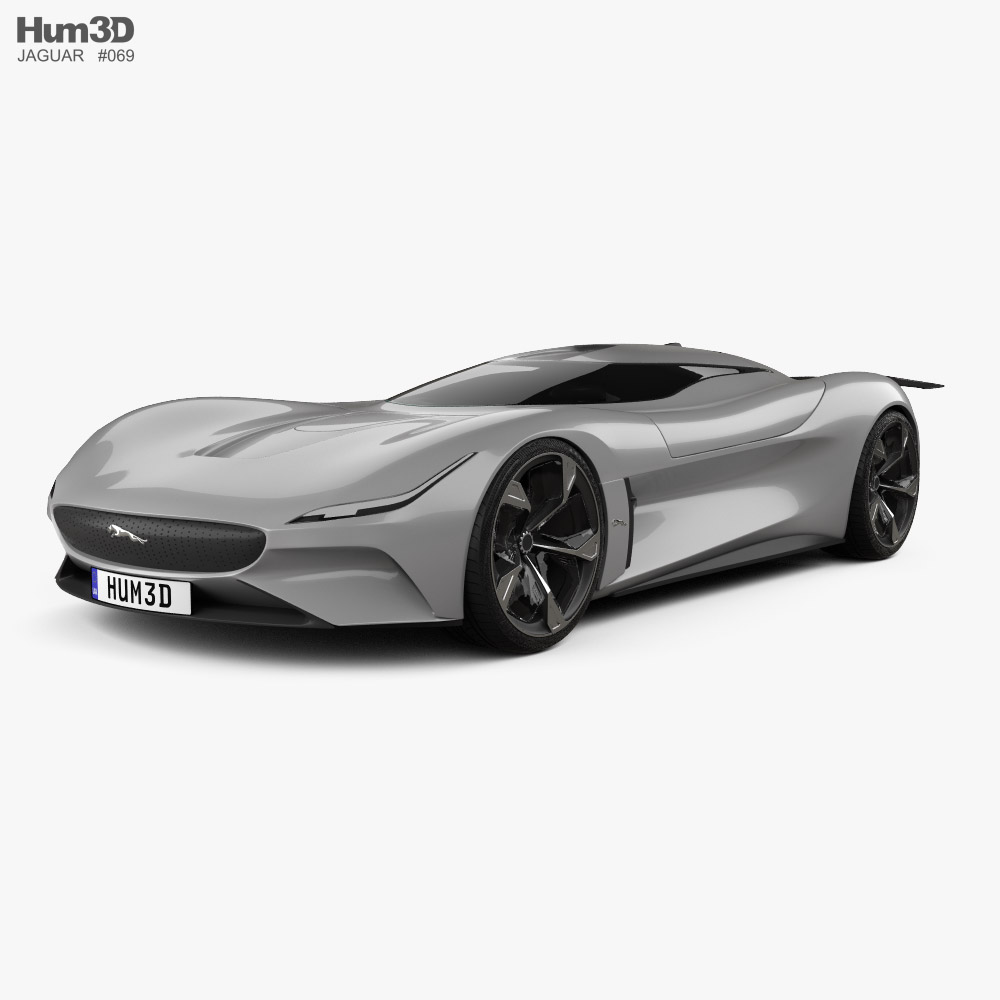 Jaguar Vision Gran Turismo coupe 2020 3D model