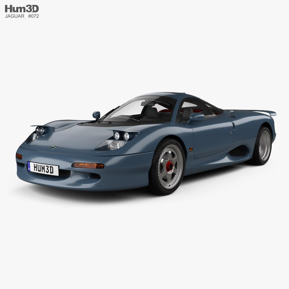 3D model of Jaguar XJR-15 1991