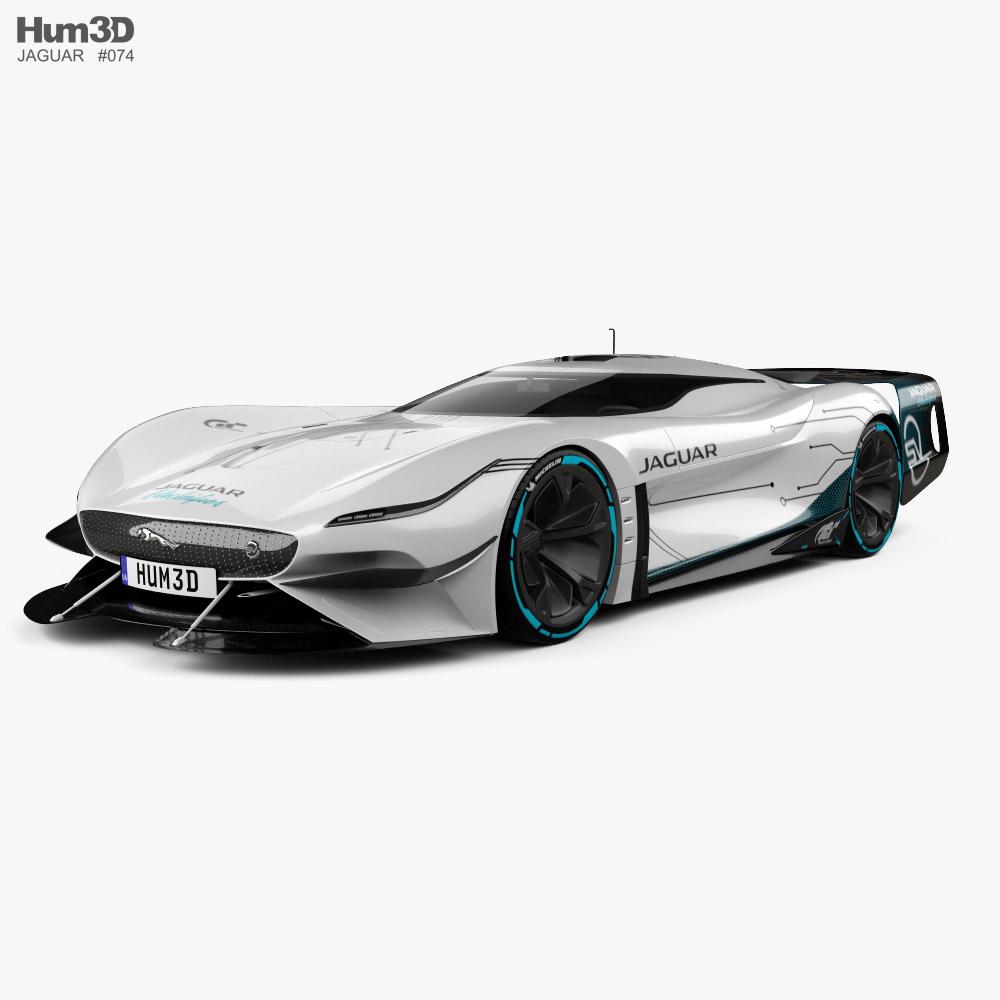Jaguar Gran Turismo SV 2020 3D model