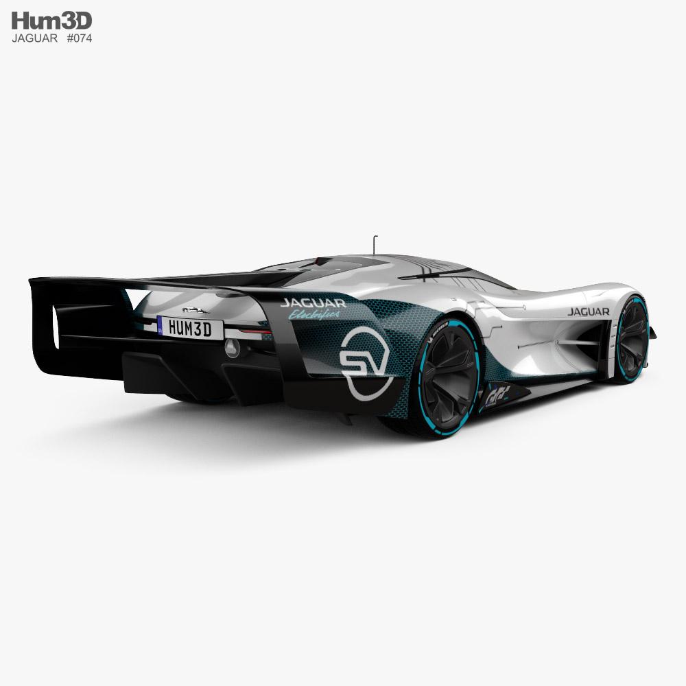 Jaguar Gran Turismo SV 2020 3d model back view