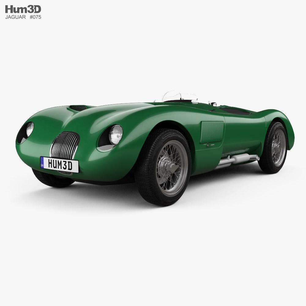 Jaguar C-Type Continuation 2021 Modelo 3D