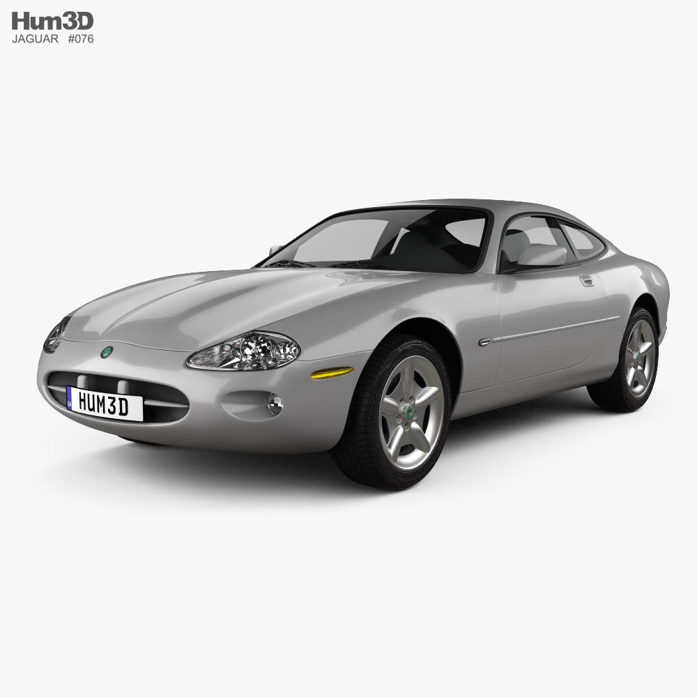 Jaguar XK 8 coupe 1996 3D model