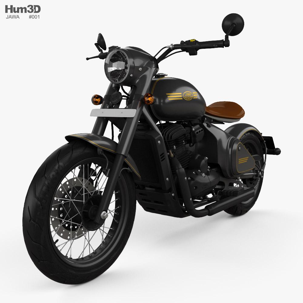 Jawa Perak 2020 3D model