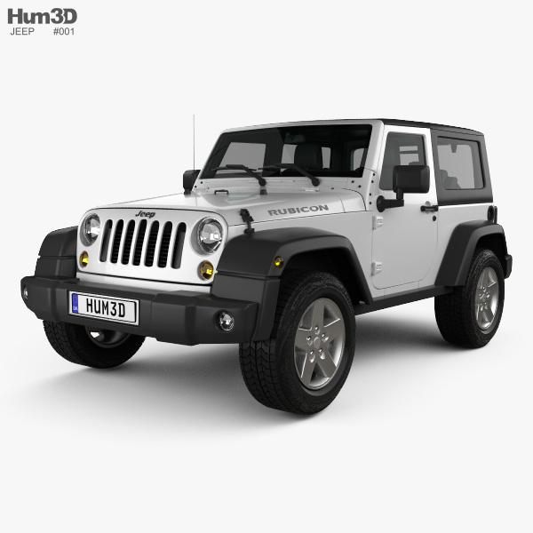 Jeep Wrangler Rubicon Hardtop 2010 3D model