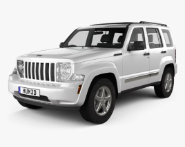 3D model of Jeep Liberty (Cherokee) 2008