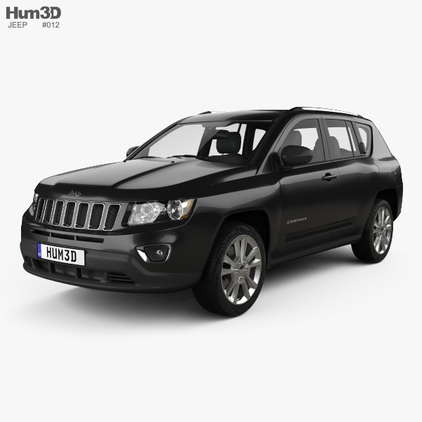 3D model of Jeep Compass 2013