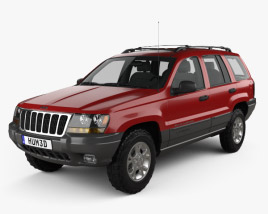 3D model of Jeep Grand Cherokee (WJ) 1998