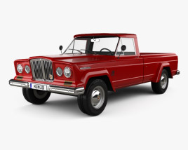 3D model of Jeep Gladiator 1962