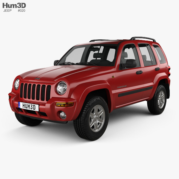 Jeep Cherokee KJ 2002 3D model