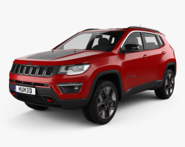 3D model of Jeep Compass Trailhawk (Latam) 2016