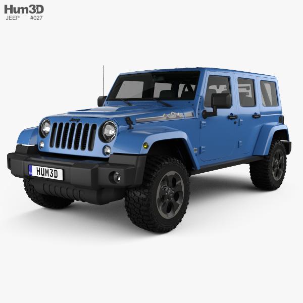 Jeep Wrangler Unlimited Polar Edition 2014 3D model