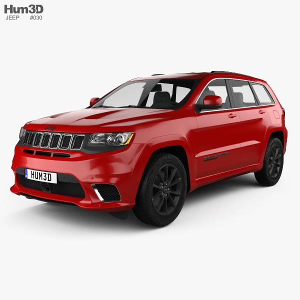 Jeep Grand Cherokee (WK2) TrackHawk 2017 3D model