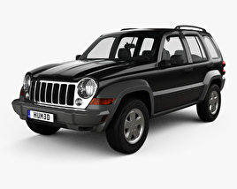 3D model of Jeep Liberty KJ Limited 2005