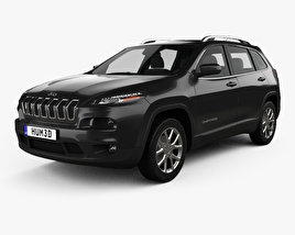 3D model of Jeep Cherokee KL Latitude 2013