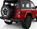 Jeep Wrangler Rubicon 2018 3d model