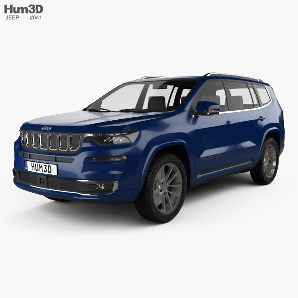 Jeep Commander Limited 2018 3D model