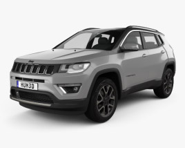 3D model of Jeep Compass Limited 2016