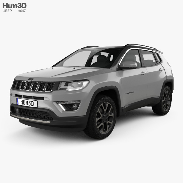 Jeep Compass Limited 2016 3D model