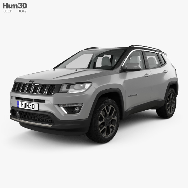 Jeep Compass Limited with HQ interior 2016 3D model
