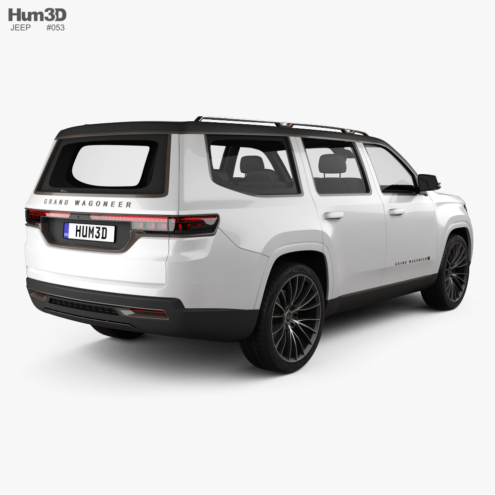 Jeep Grand Wagoneer 2020 3d model
