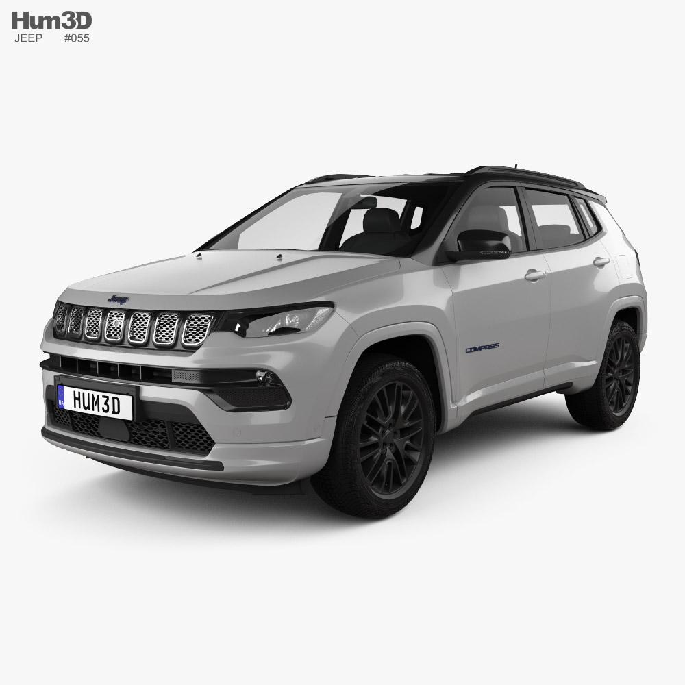 Jeep Compass S 4xe 2021 3D model