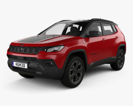 Jeep Compass Trailhawk 4xe 2021 3D model