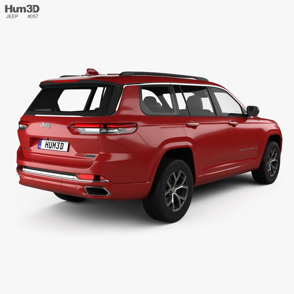 Jeep Grand Cherokee L Overland 2021 3d model