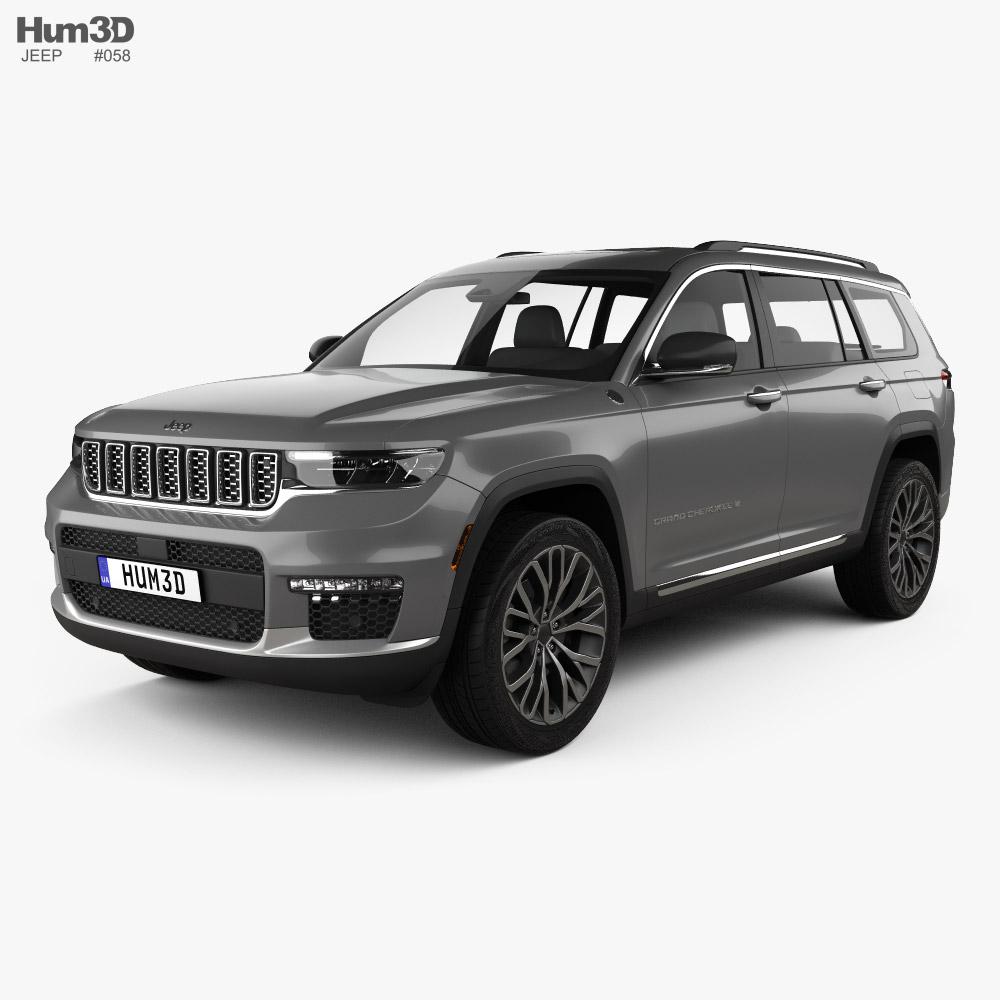 Jeep Grand Cherokee L Summit 2021 3D model