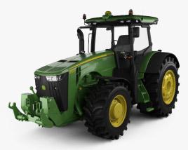 3D model of John Deere 8360R Tractor 2012