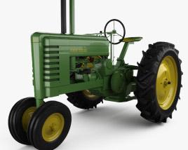 3D model of John Deere B 1947
