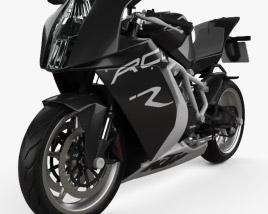 3D model of KTM 1190 RC8 R 2012