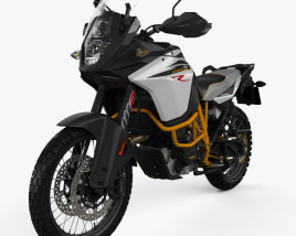 3D model of KTM 1090 Adventure R 2017