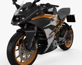 3D model of KTM 390 RC 2017