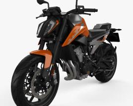 3D model of KTM 790 Duke 2018