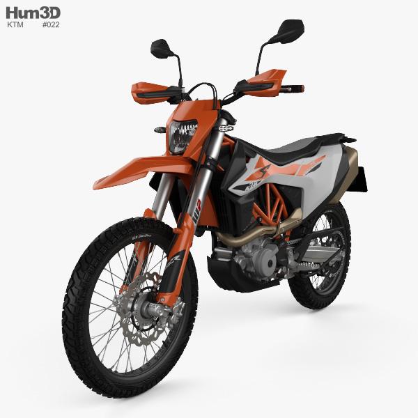 KTM 690 Enduro R 2020 3D model