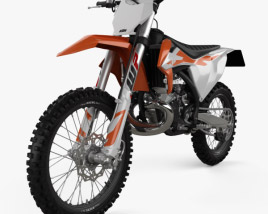 3D model of KTM 250 SX 2020