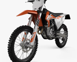 3D model of KTM 350 SX-F 2020