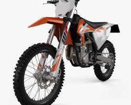 3D model of KTM 450 SX-F 2020