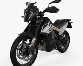 3D model of KTM 790 Adventure 2019