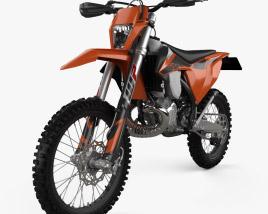 3D model of KTM 250 EXC TPI 2020