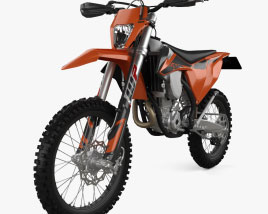 3D model of KTM 350 EXC-F 2020