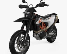 3D model of KTM 690 SMC R 2020