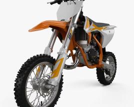 3D model of KTM 50 SX 2020