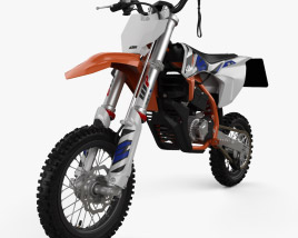 3D model of KTM Elektro SX-50E 2020